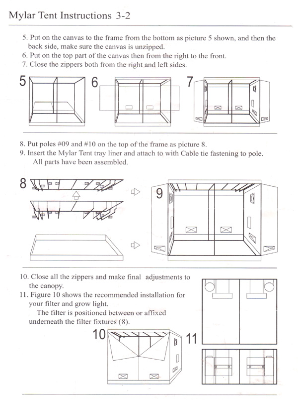 ... Century Grow Systems Hydroponics Mylar Grow Tent For Sale 240 x 120 x 200 - instructions  sc 1 st  Hydroponic growing indoors. Cheap hydroponics equipment supplies & Cheap Hydroponics Grow Tents. Mylar. Century Grow Systems. Bloomroom